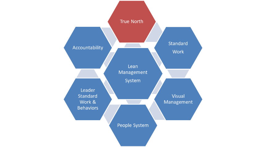The Lean Management System: True North